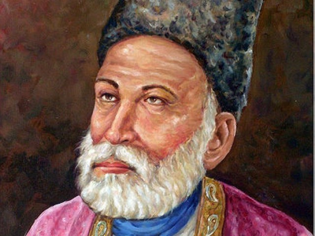 Mirza Ghalib and the veterans