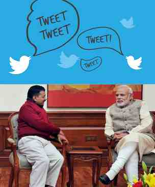 Who's Tweeting What – Modi Vs Kejriwal